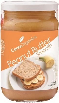 Ceres Organics Peanut Butter Smooth 300g