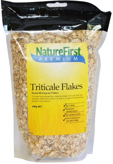 Natures First Triticale Flakes Rolled 400g