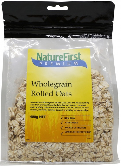 Nature First Wholegrain Rolled Oats 400g