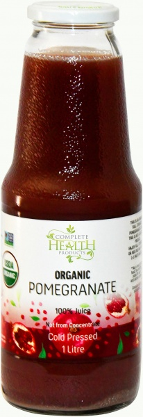 Complete Health Organic Pomegranate 100% Juice 1Lt