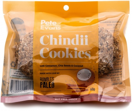 Rumbles Peter Evans Chindii Cookie G/F 60g