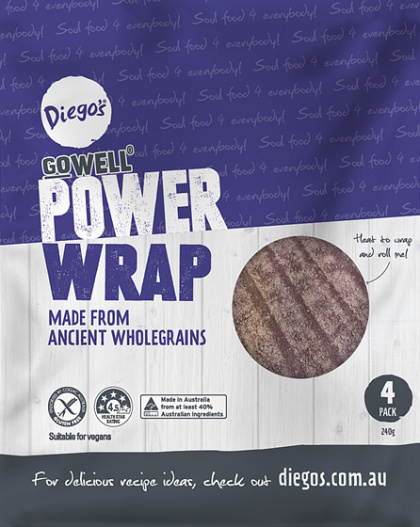 Diego's GoWell Power Wrap (4Pack)