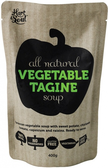 Hart & Soul All Natural Vegetable Tagine Soup in Pouch 400g