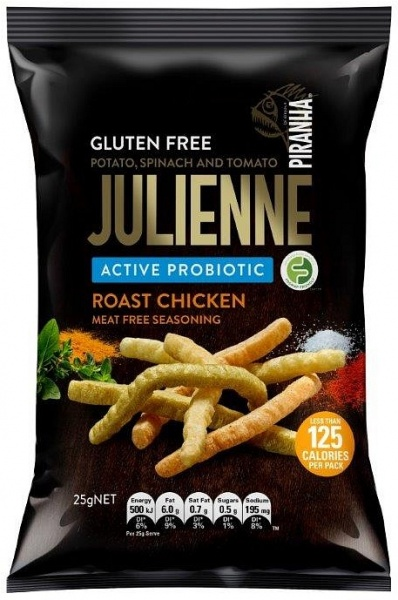 Piranha Julienne Active Probiotics Roast Chicken G/F 24x25g