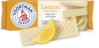 Voortman Sugar Free Lemon Wafers 255g
