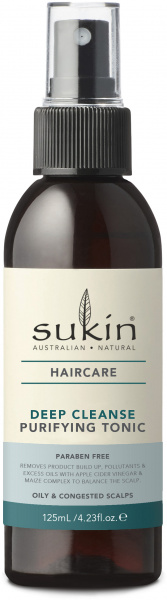 Sukin Deep Cleanse Purifying Tonic 125ml Spray