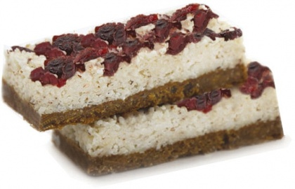 Pantry & Larder Vegan Berry Coconut Fusion Slices G/F D/F 100g (Box of 15)