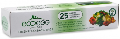 Ecoegg Live Clever Fresh Food Saver Bags Medium - 25 Bags