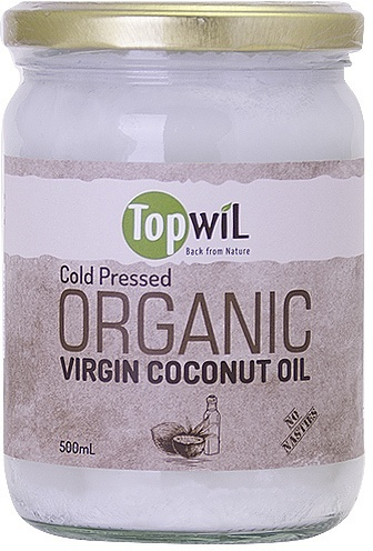 TopwiL Purified Deodorized Organic Coconut Oil 500ml