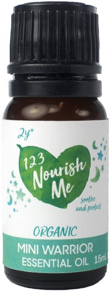 123 Nourish Me Mini Warrior Essential Oil 15g