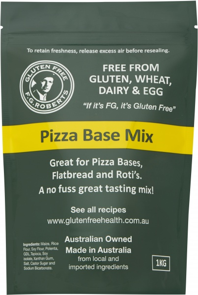 F.G Roberts Pizza Base Mix G/F 1Kg