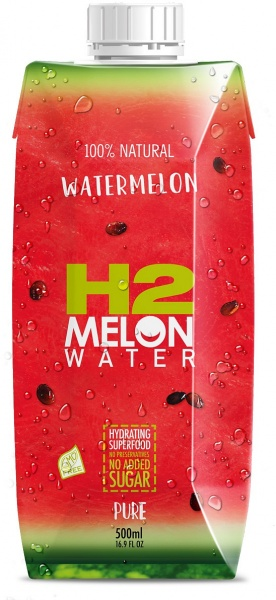 H2Melon Watermelon Water 12x500ml