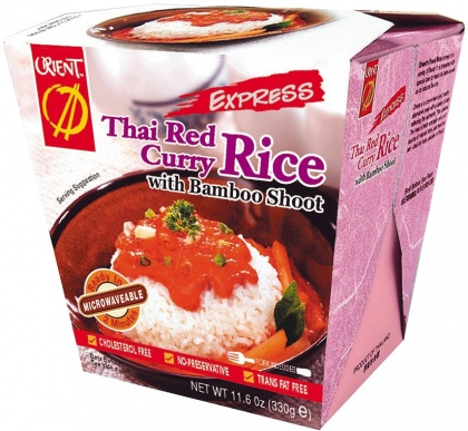 Orient Noodles Rice Box Thai Red Curry 330g