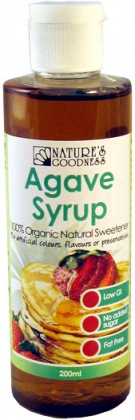 Natures Goodness Agave Syrup 200ml