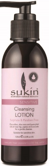 Sukin Sensitive Cleansing Lotion 125ml