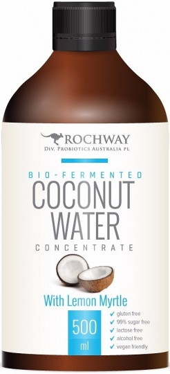 Rochway Bio Fermented Coconut Water with Lemon Myrtle G/F 500ml