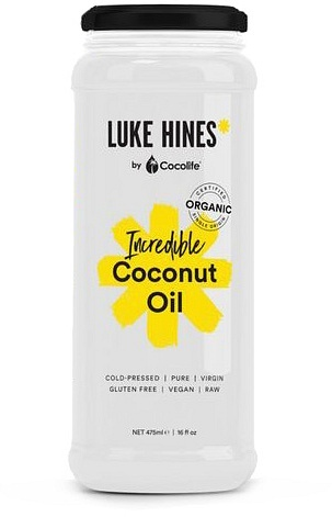 Luke Hines by Cocolife Organic Incredible Coconut Oil G/F 475ml