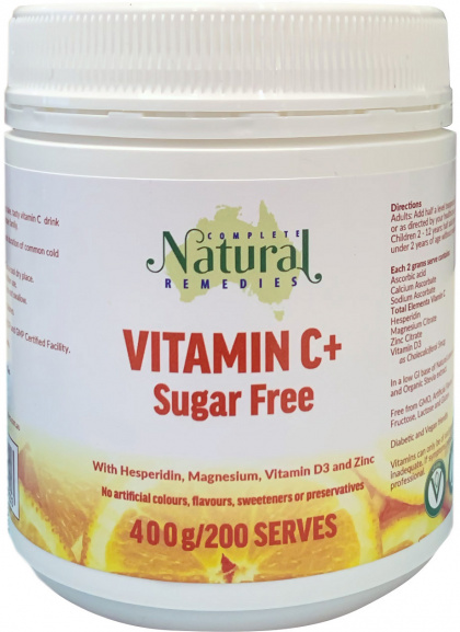 Complete Natural Remedies Vitamin C 400g