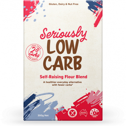 Well And Good Seriously Low Carb Self Raising Flour Blend G/F 300g